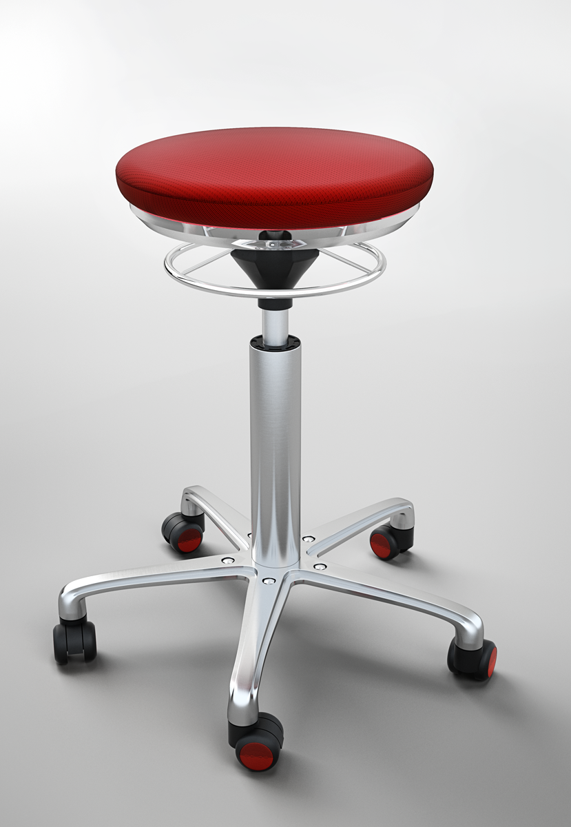 Global Stole (Global Chairs) 3D Visualization Of New Chair Framework.  Client: Grafisk Tegnestue